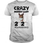 Crazy Donkey Lady 2020 Quarantined Shirt