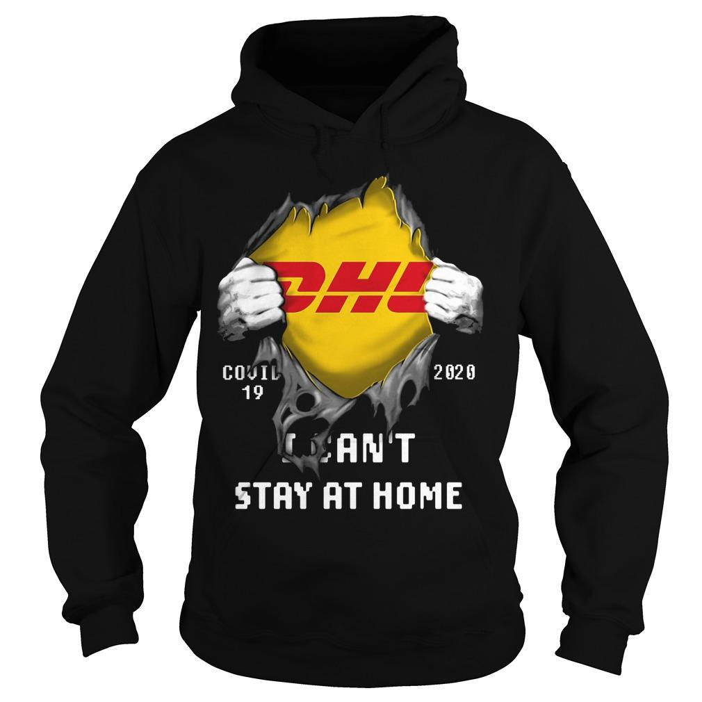 Dhl Inside Me I Can't Stay At Home Hoodie