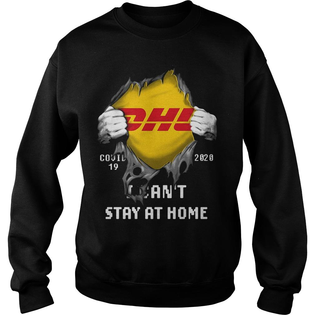 Dhl Inside Me I Can't Stay At Home Sweater