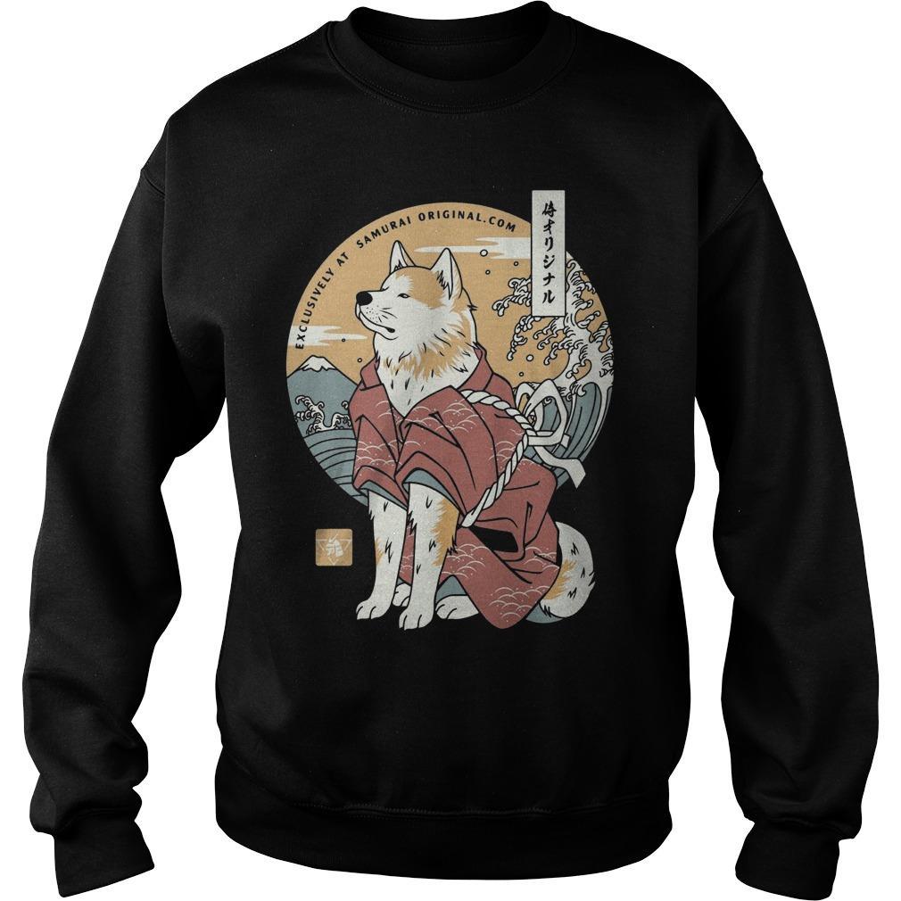 Dog Akita Exclusively At Samurai Sweater