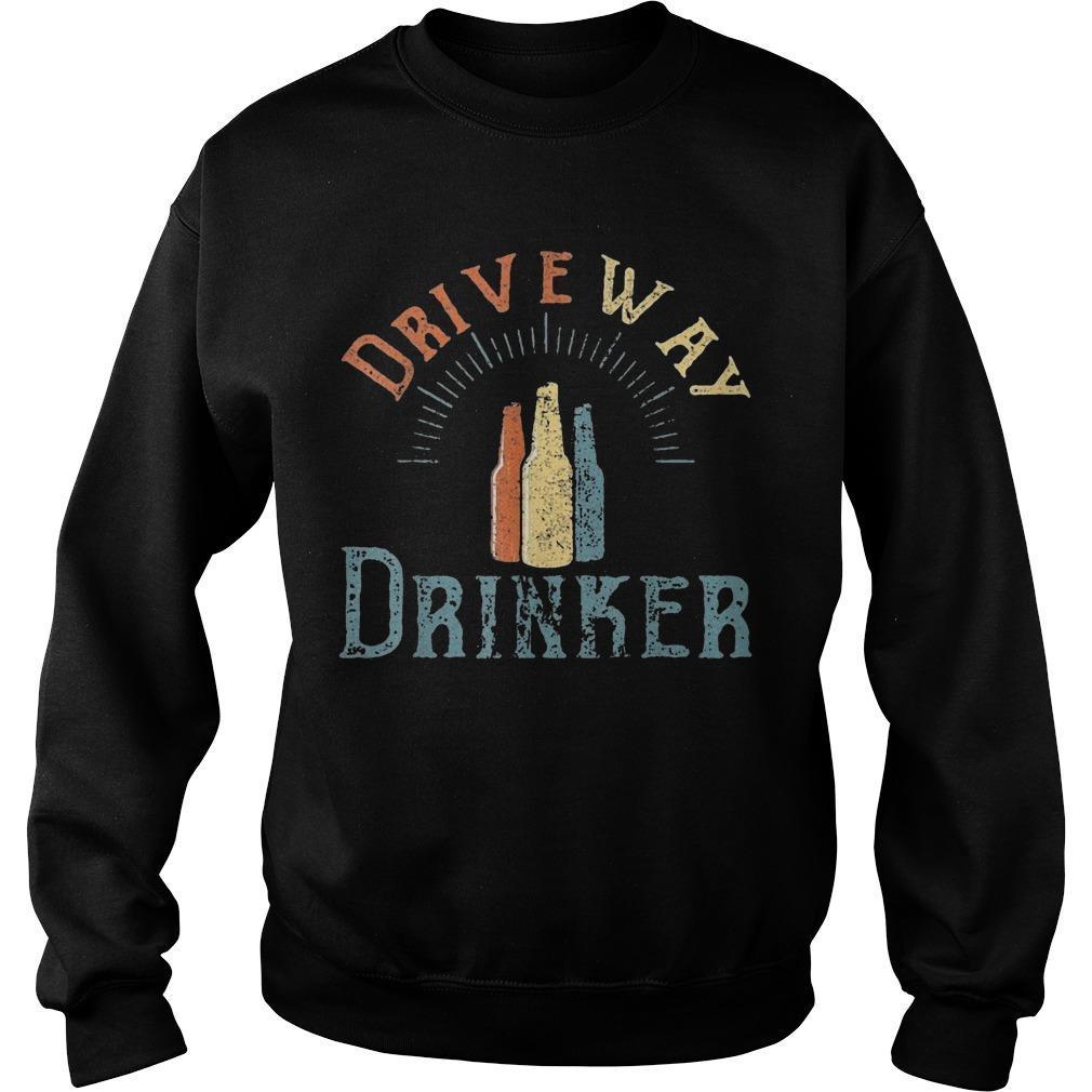 Driveway Drinker Sweater