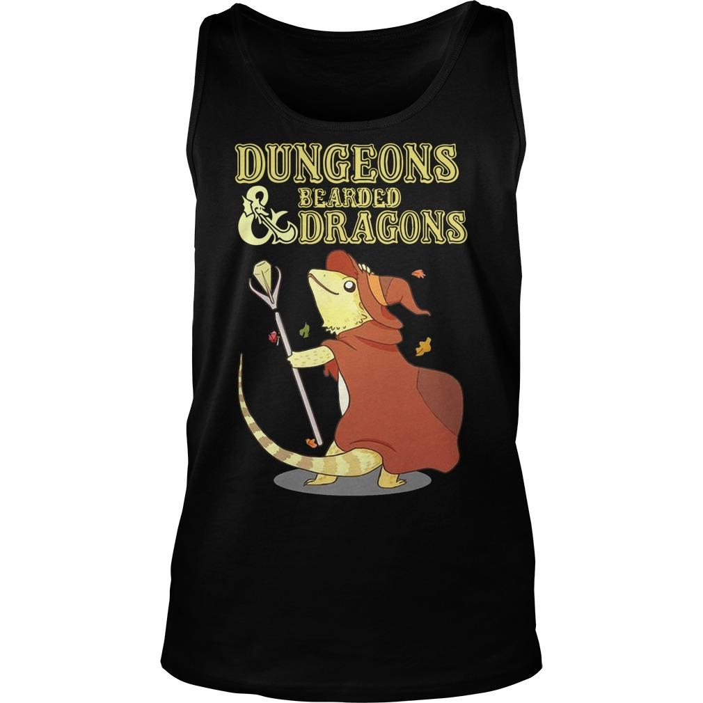 Dungeons And Bearded Dragons Tank Top