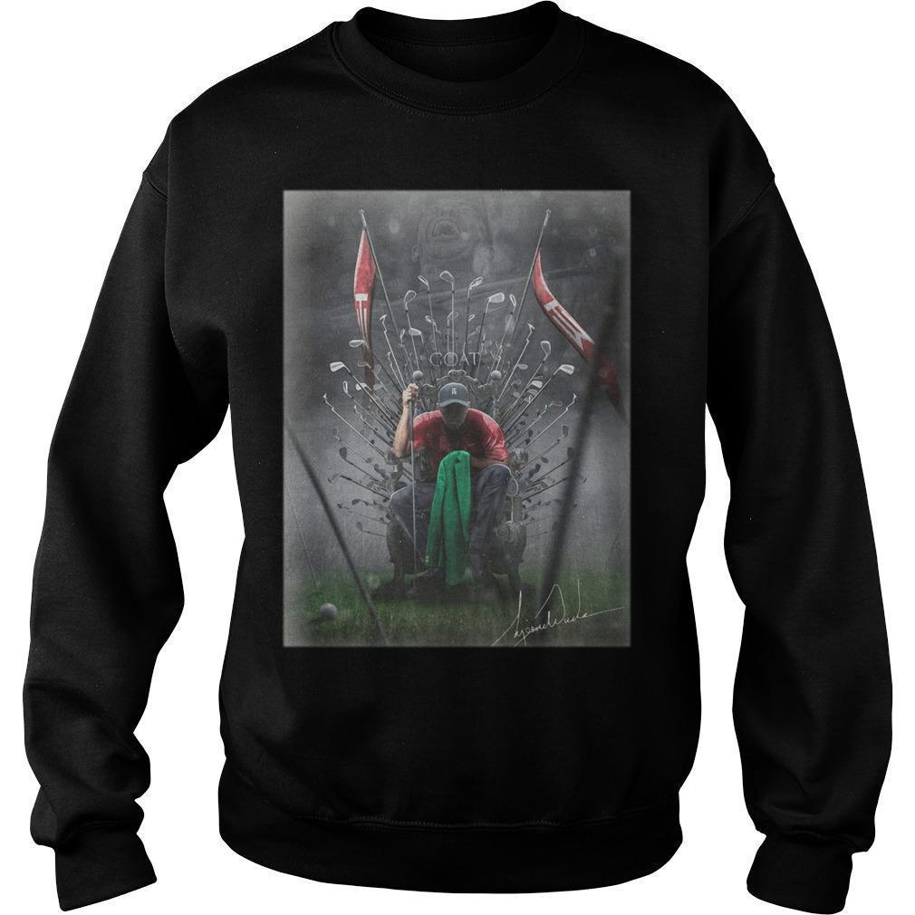 Game Of Thrones Iron Throne Tiger Woods GOAT Sweater