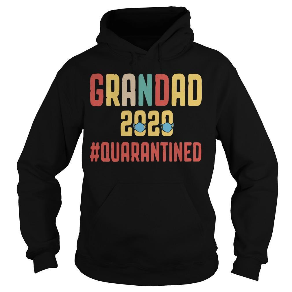 Grandad 2020 Quarantined Hoodie