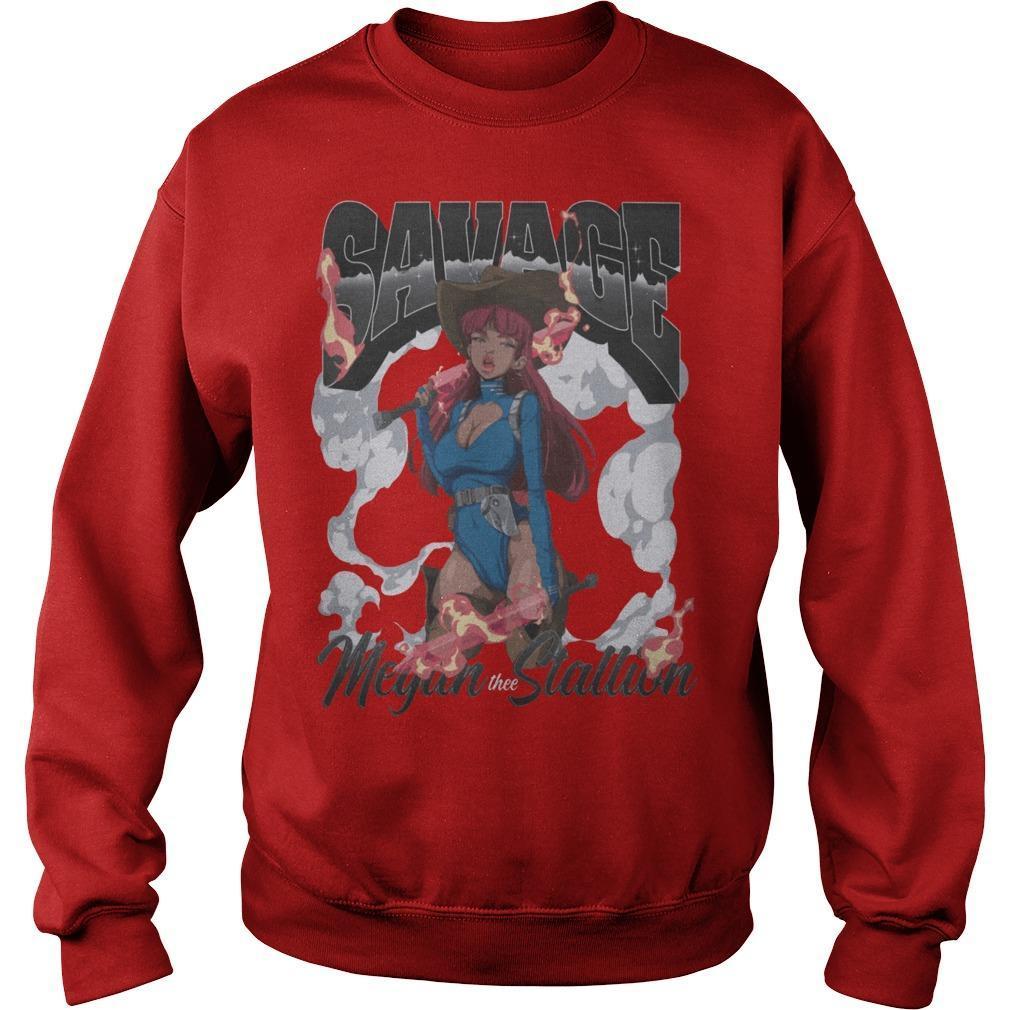 Hot Girl Meg Savage Megan Thee Stallion Sweater