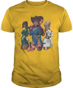 Hot Girl Meg Savage Trio Ladies Shirt