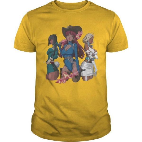 Hot Girl Meg Savage Trio Ladies Shirt