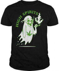 Marijuana Weed Smokers High Spirits Shirt