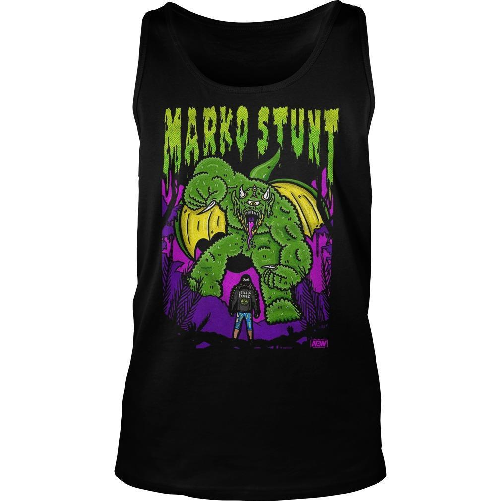 Marko Stunt Vs Goliath Tank Top