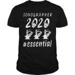 Mask Sonographer 2020 Essential Shirt
