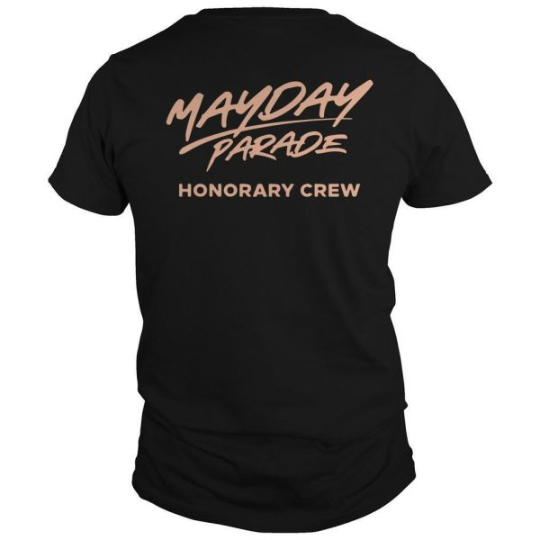 Mayday Parade Honorary Crew Shirt