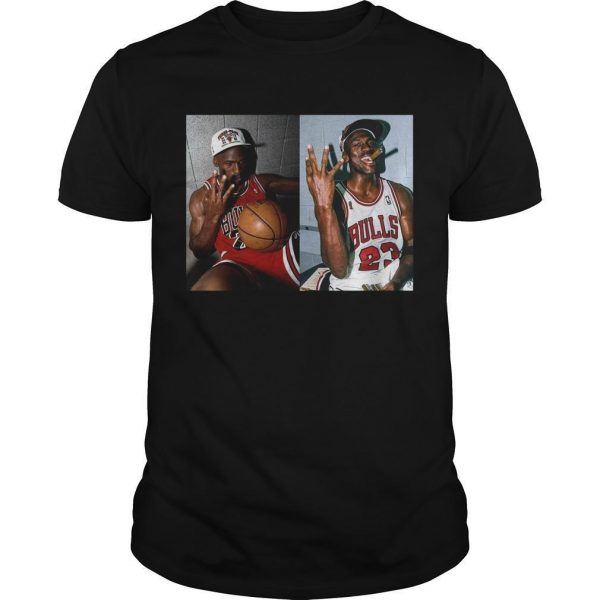 Michael Jordan 3 Peat Shirt