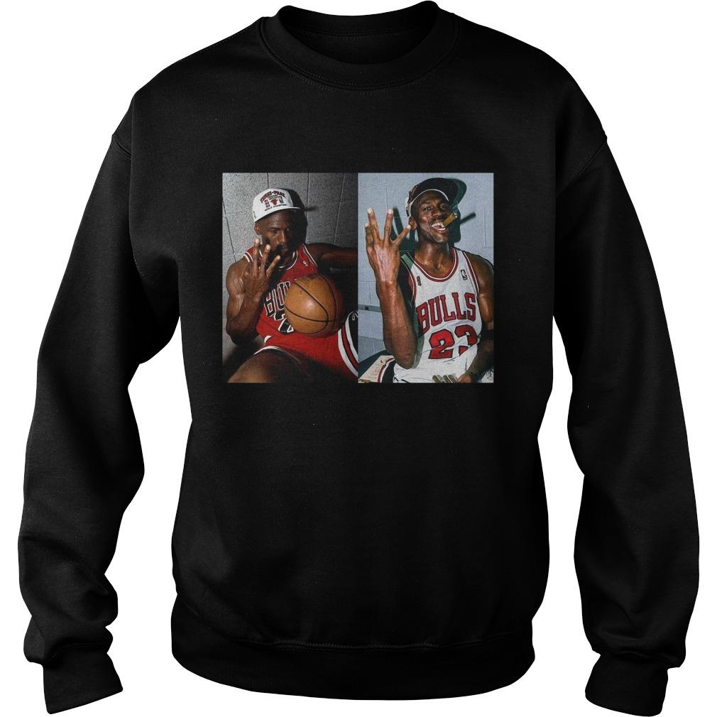 Michael Jordan 3 Peat Sweater