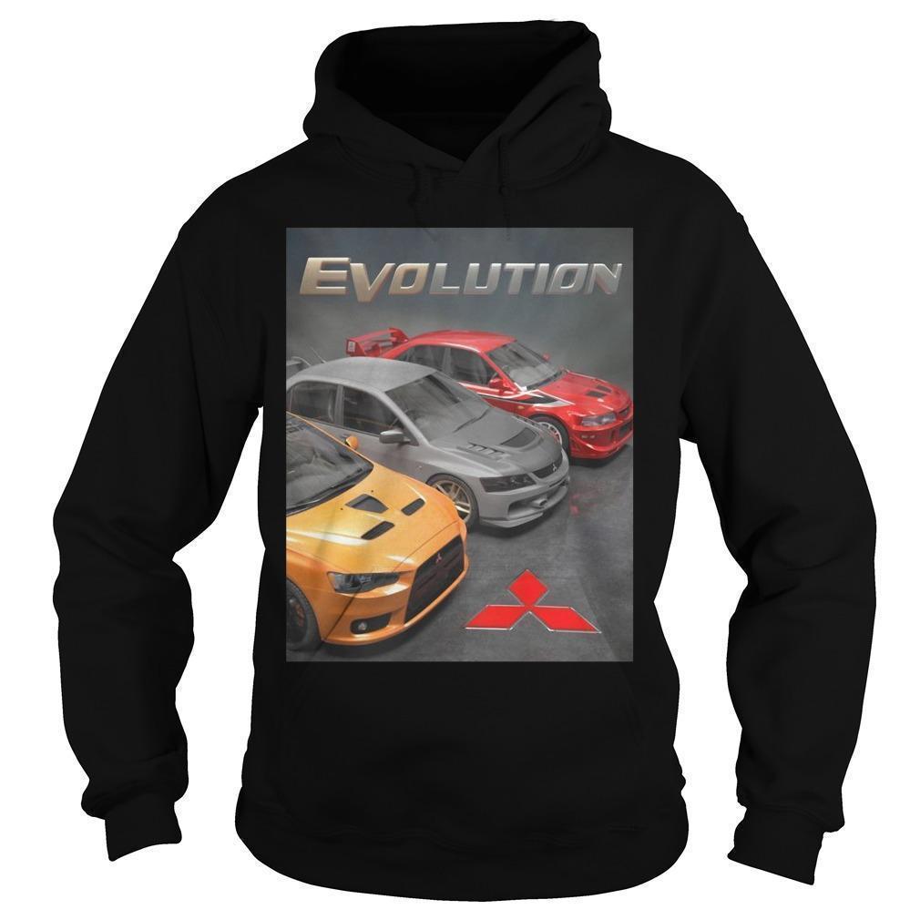 Mitsubishi Evolution Hoodie