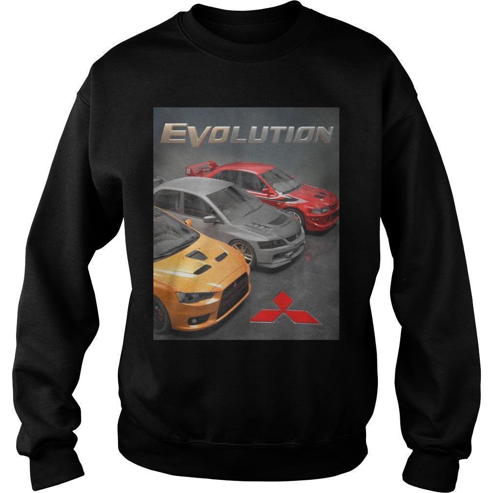 Mitsubishi Evolution Sweater