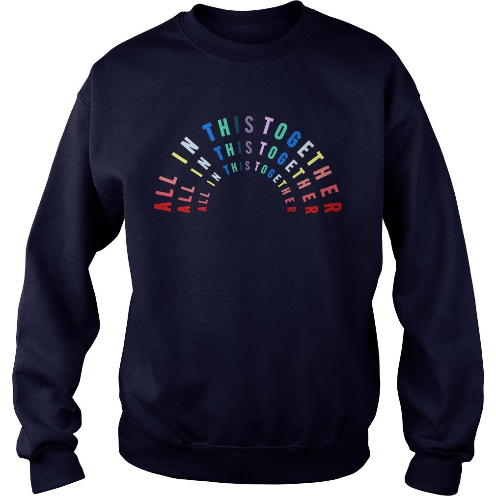 M&s Rainbow T Nhs Sweater