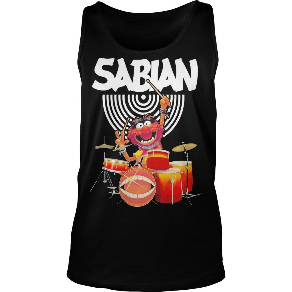 Muppet Drum Sabian Tank Top
