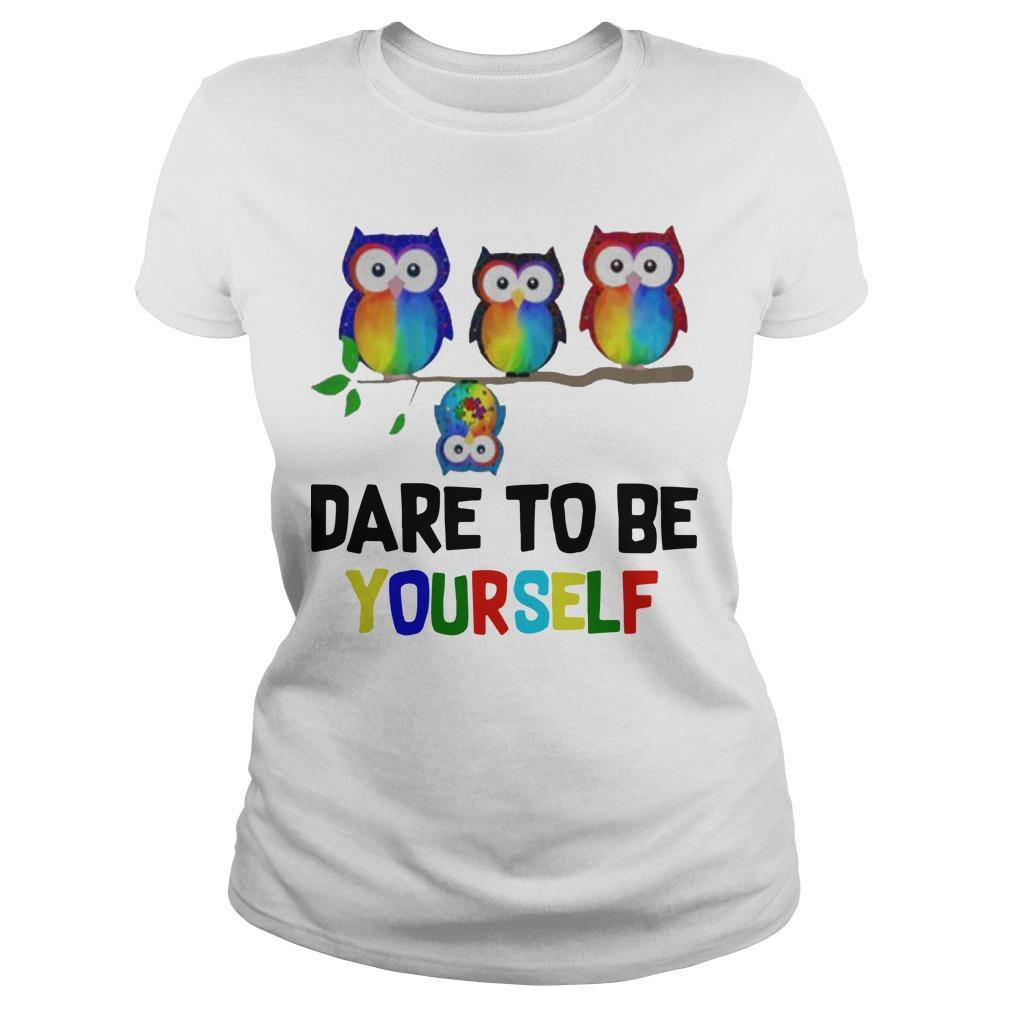 Owls Dare To Be Yourself Longsleeve