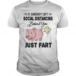 Pig If Somebody Isn't Social Distancing Behind You Just Fart Shirt
