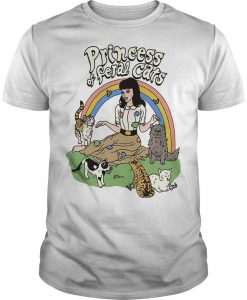 Princess Of Feral Cats Shirt