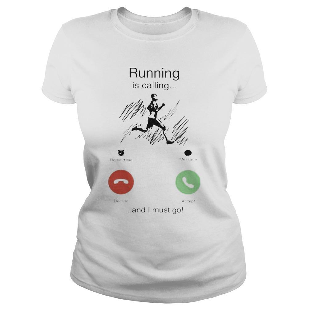 Running Is Calling And I Must Go Longsleeve