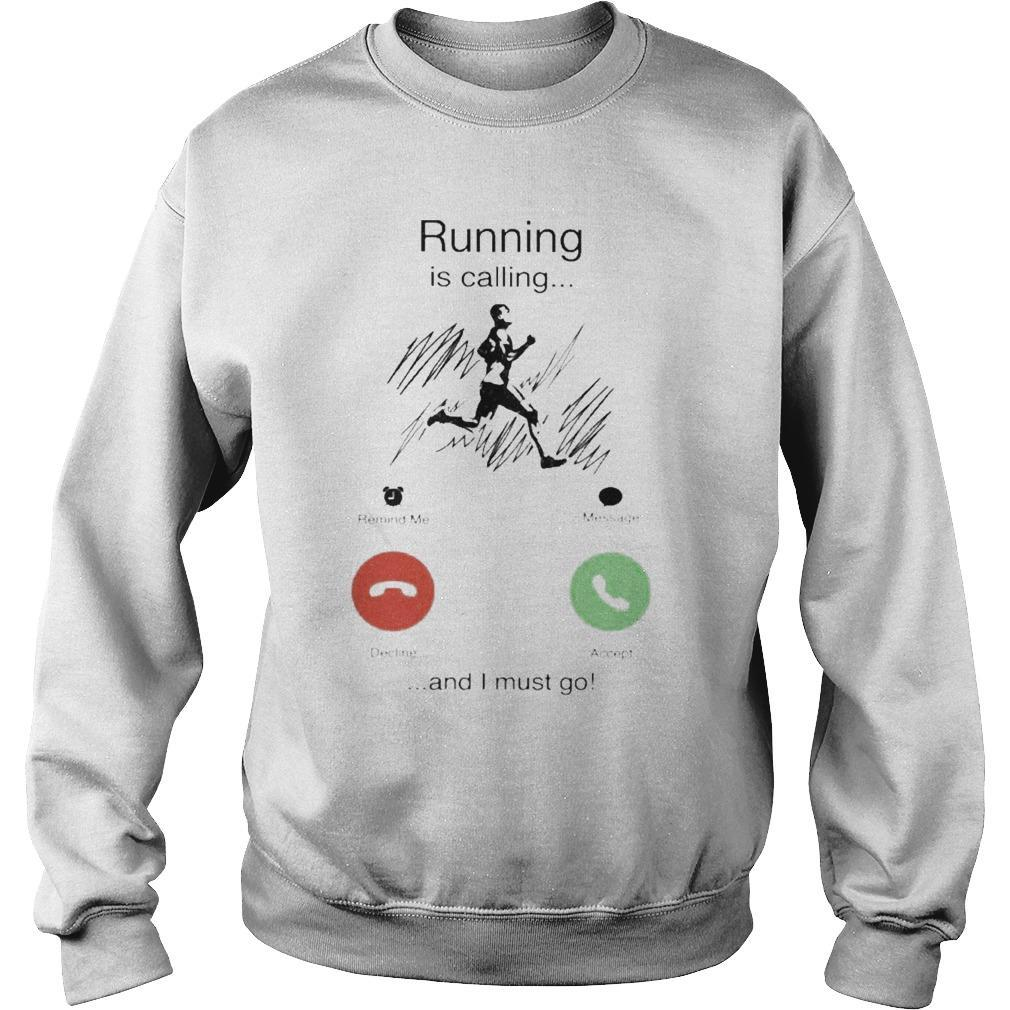 Running Is Calling And I Must Go Sweater