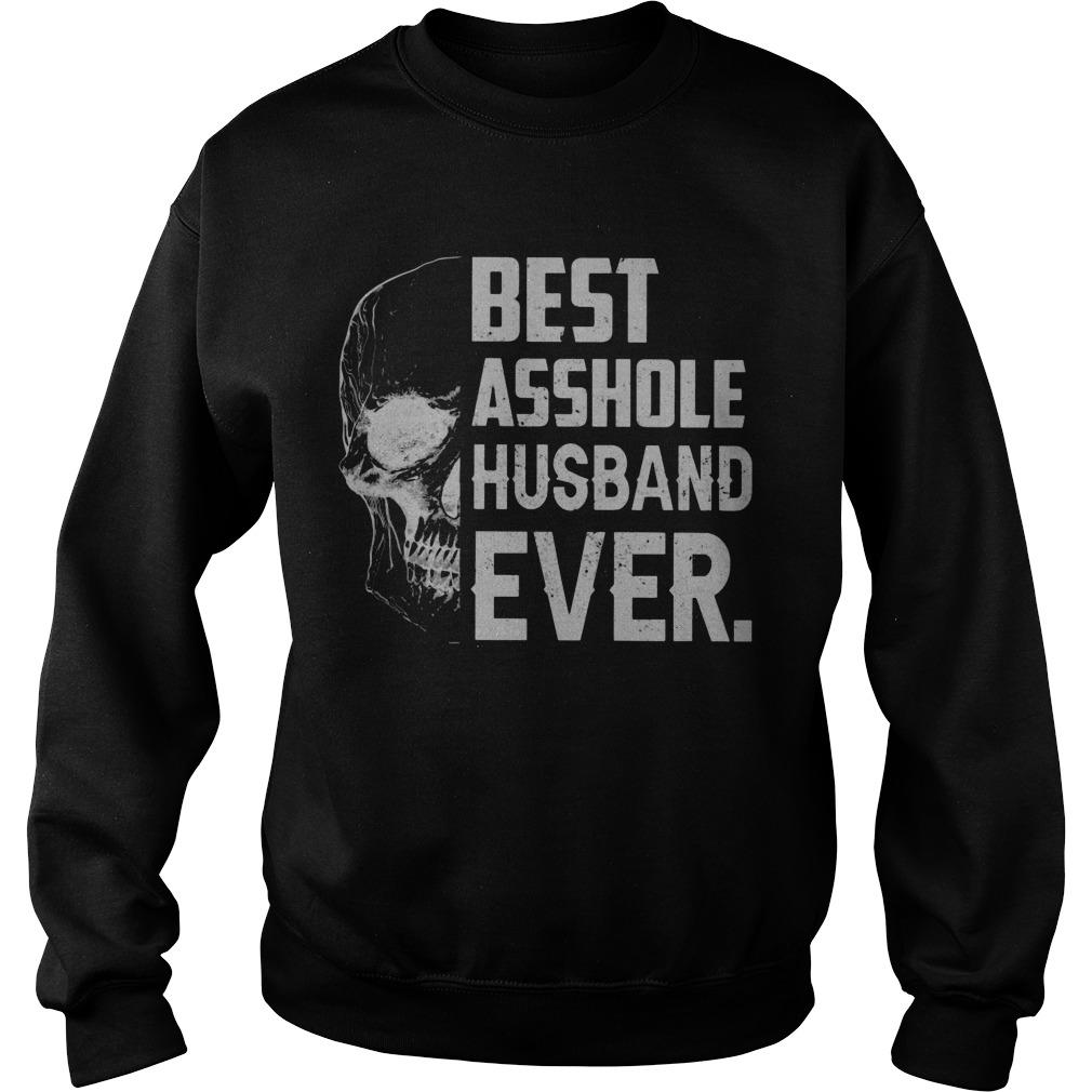 Skull Best Asshole Husband Ever Sweater