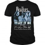 The Beatles 50 Years Let It Be 1970 2020 Signatures Shirt