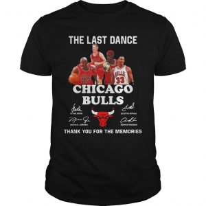 The Last Dance Thank You For The Memories Chicago Bulls T Shirt