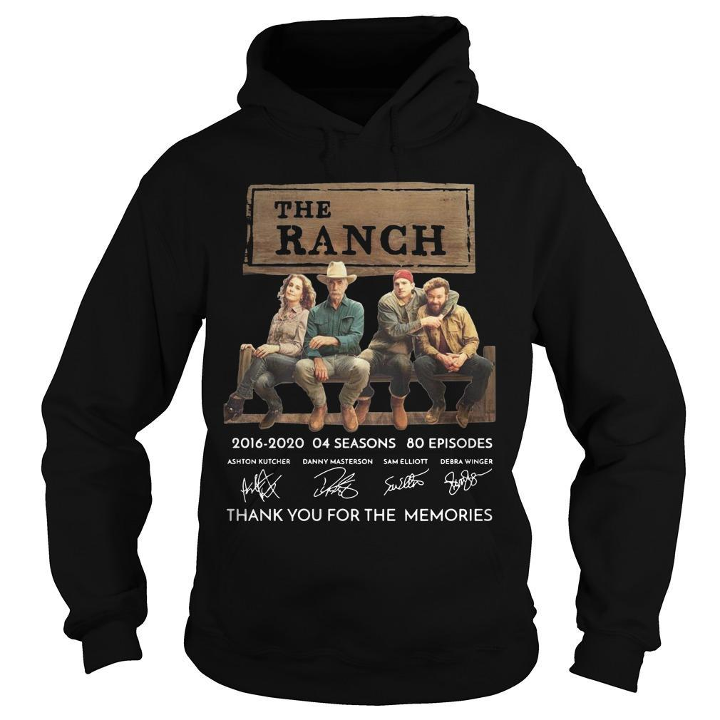 The Ranch 2016 2020 04 Seasons 80 Episodes Thank You For The Memories Hoodie
