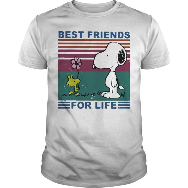 Vintage Best Friends For Life Snoopy T Shirt
