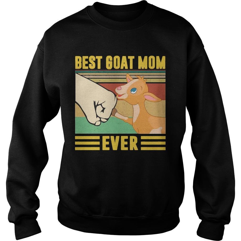 Vintage Best Goat Mom Ever Sweater