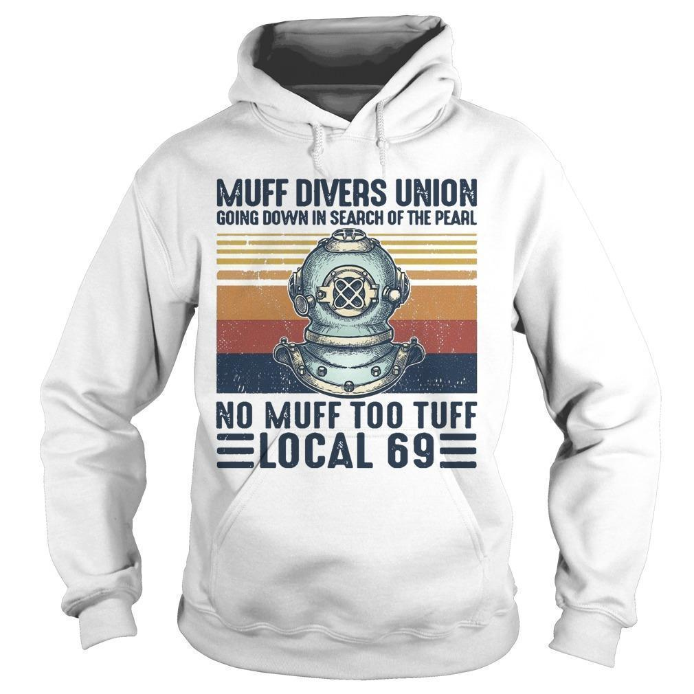 Vintage Muff Divers Union Going Down In Search Of The Pearl Hoodie
