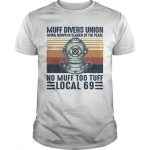 Vintage Muff Divers Union Going Down In Search Of The Pearl Shirt