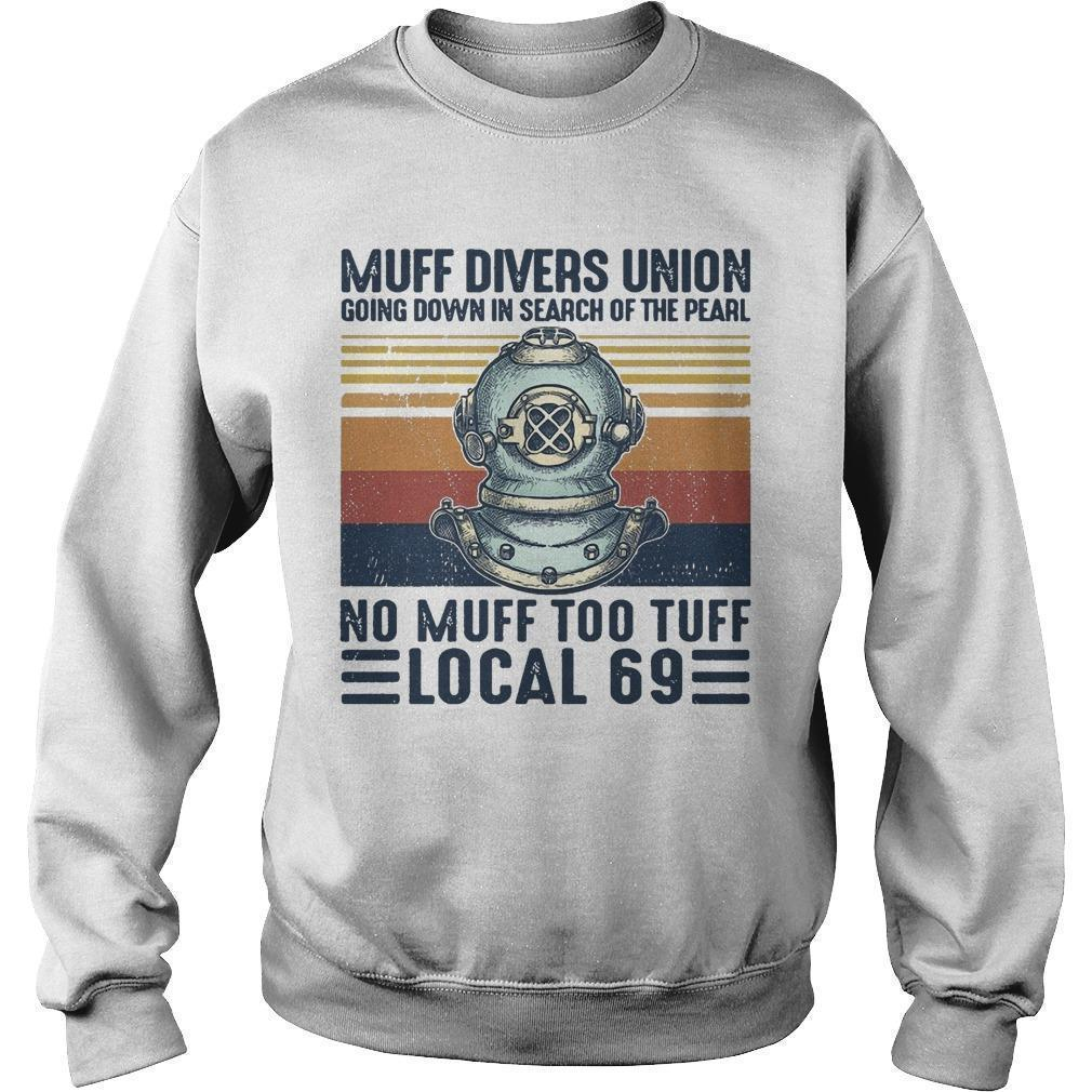 Vintage Muff Divers Union Going Down In Search Of The Pearl Sweater