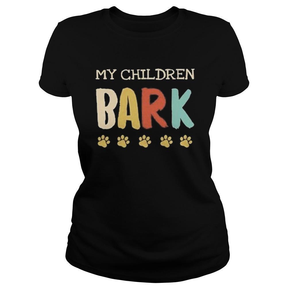 Vintage My Children Bark Longsleeve