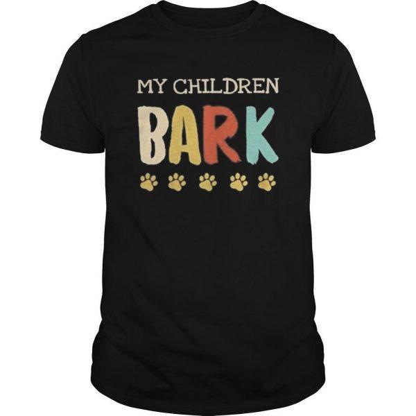 Vintage My Children Bark Shirt
