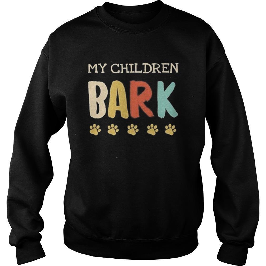 Vintage My Children Bark Sweater