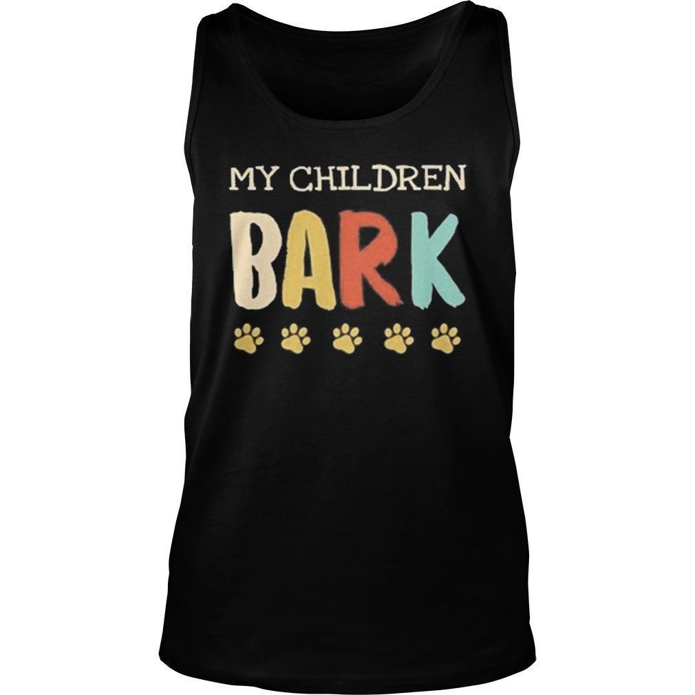Vintage My Children Bark Tank Top