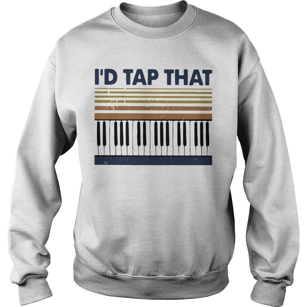Vintage Piano I'd Tap That Sweater