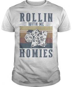 Vintage Rollin With Me Homies Shirt