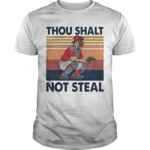 Vintage Thou Shalt Not Steal Shirt
