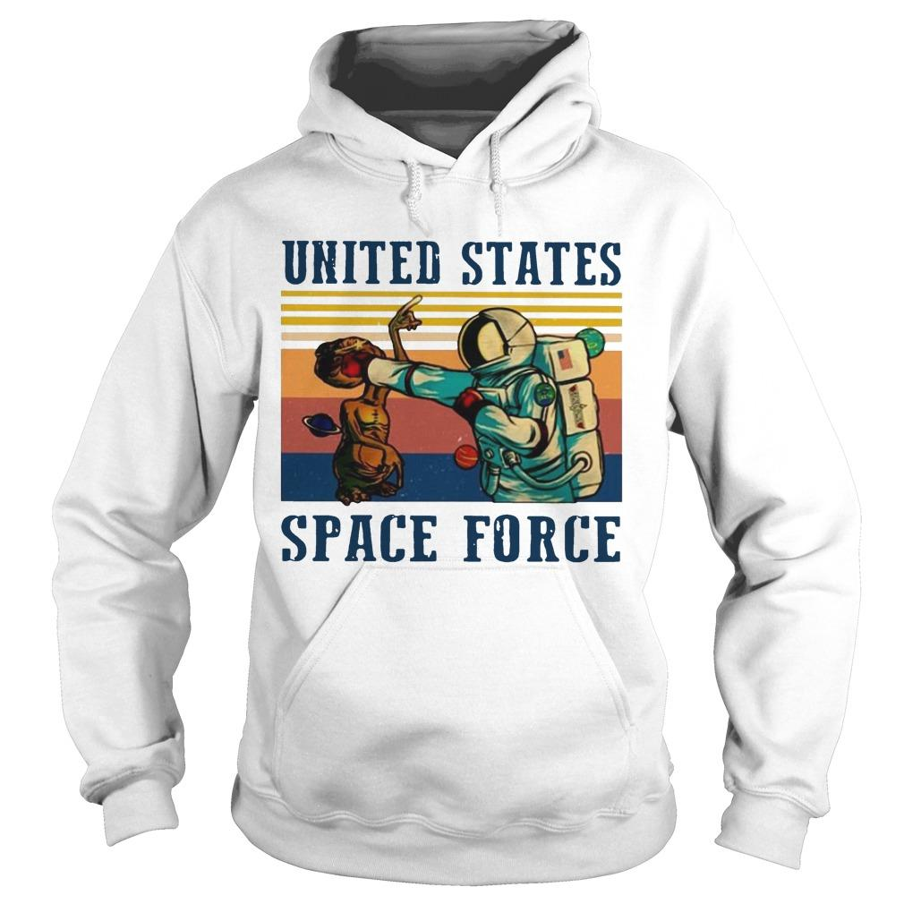 Vintage United States Space Force T Hoodie