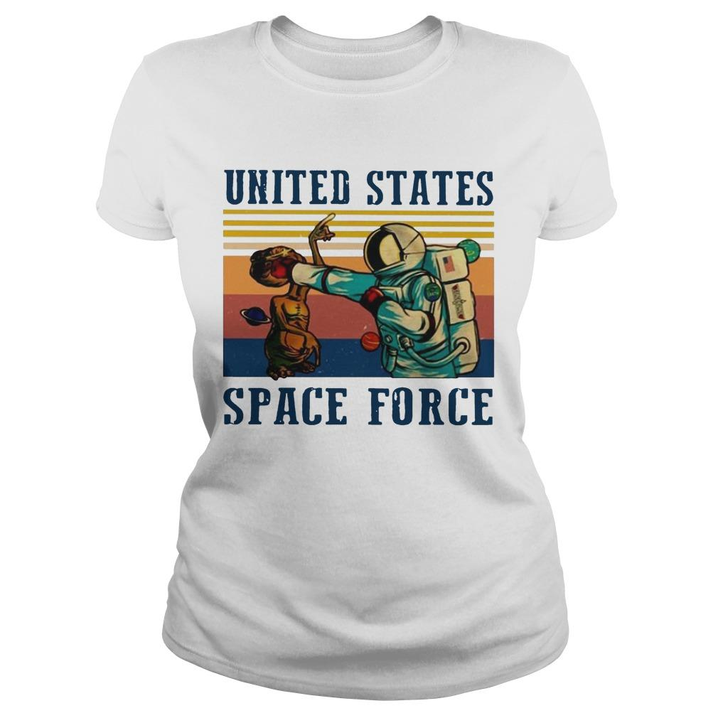 Vintage United States Space Force T Longsleeve