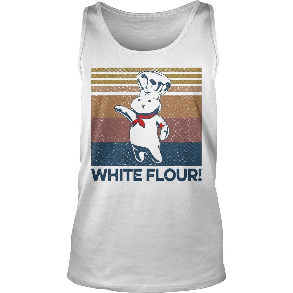 Vintage White Flour Tank Top