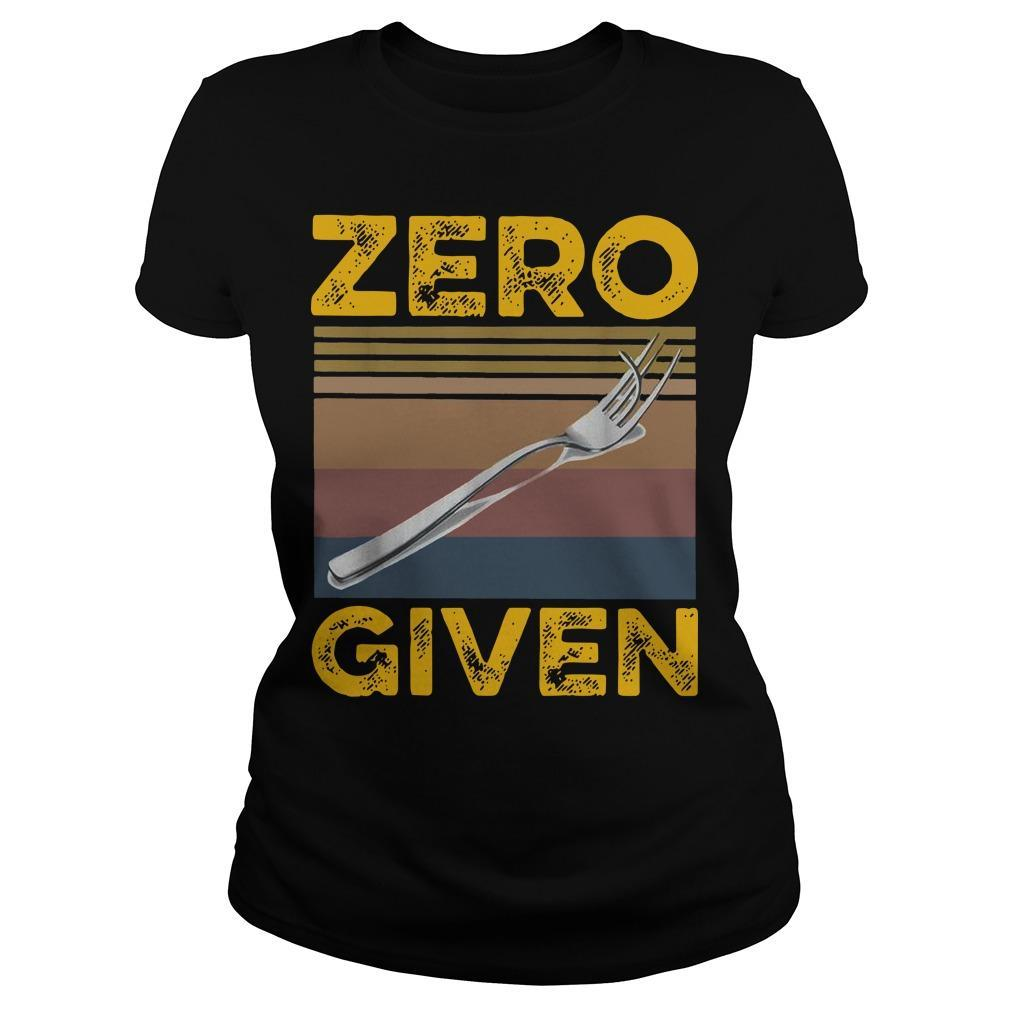Vintage Zero Give Longsleeve