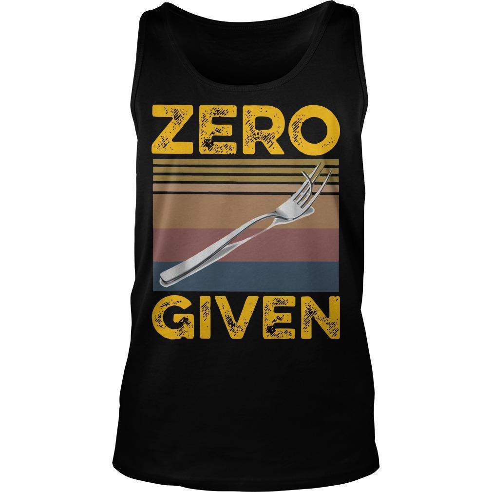 Vintage Zero Give Tank Top