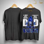 Wildcats Dad A Son's First Hero A Daughter's First Love Shirt