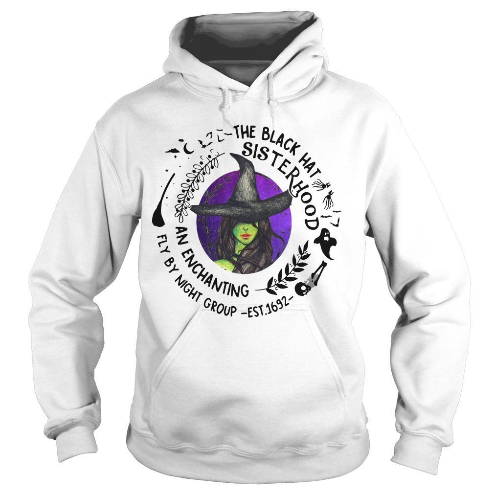Witch The Black Hat Sisterhood An Enchanting Fly By Night Group Hoodie