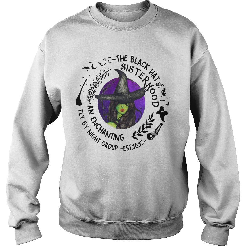 Witch The Black Hat Sisterhood An Enchanting Fly By Night Group Sweater